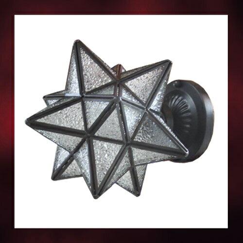 ウォールランプ(アイアン・インテリア照明・星型) INK-1001021H