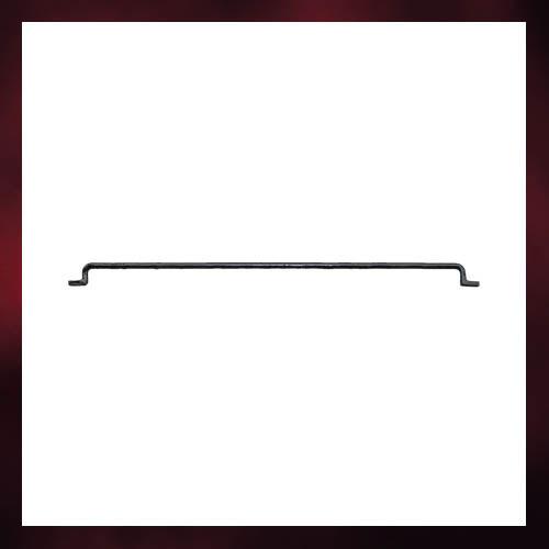 ロートアイアン(アイアン飾り・アイアンパーツ・アンティーク風・アイアンバー・クラシック) W413×D23×H6 INK-tetsuo4