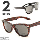 サングラス メンズ クラシック ウェリントン型 セルフレーム レディース レディス おしゃれ 大人 カジュアル 紫外線対策 UV ブラック 黒縁 べっ甲 伊達メガネ