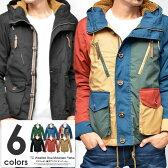 マウンテンパーカー メンズ ジャケット パーカー ブルゾン 冬服 メンズファッション メンズアウター ハイネック 大きいサイズ対応 フード 防寒 新作 05P01Oct16