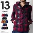 ダッフルコート メンズ ショート ジャケット 大きいサイズ 黒 ブラック パーカー アウター ウール 秋冬 アウター 新作 赤 レッド 05P01Oct16