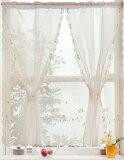 流苏安排免费邮件服务 - 行!设立小型窗帘宽度的浪漫 - 85x 90厘米长[【メール便対応OK!】セットアップロマンス 小窓カーテン 幅85x丈90cm]