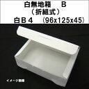 白無地箱 B(折組式)白4  96x12...