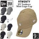 NEW ERA ベースボールキャップ キャップ 帽子 ロゴ スモールロゴ ニューエラ NY KANKEES ヤンキース 9TWENTY 920