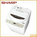洗濯機 4.5kg シャープ 一人暮らし ES-GE4B-C送料無料 あす楽 新生活 1人暮らし 全自動洗濯機 SHARP タテ型 小型 ミニ コンパクト 洗濯 生活家電 家電【D】