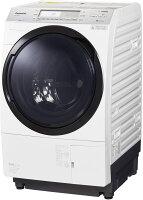 パナソニック ななめドラム洗濯乾燥機 10kg 左開き クリスタルホワイト NA-VX700AL-W