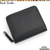 ポールスミス(Paul Smith)財布 二つ折り財布〈黒〉(psu014-10)ブラック メンズ