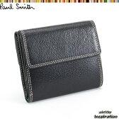 ポールスミス Paul Smith 財布 二つ折り財布 黒 psp618-10 ブラック メンズ 紳士