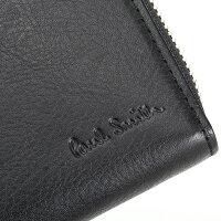 ポールスミス財布長財布ラウンドファスナー黒PaulSmithpsu817-10ブラックメンズ紳士