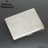 展示品箱なし ヴィヴィアンウエストウッド シガレットケース たばこケース タバコケース 名刺入れ カードケース Vivienne Westwood シルバー 20140430-1