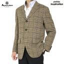 <クーポン配布中>アクアスキュータム ジャケット 925 茶系 Aquascutum a9560206-83 メンズ 紳士