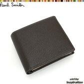 ポールスミス 財布 二つ折り財布 茶 Paul Smith psu654-71 ブランド メンズ 紳士
