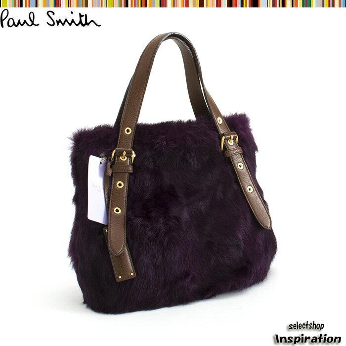 ポールスミス バッグ ハンドバッグ ショルダーバッグ 紫 Paul Smith pwt291-34 レディース 婦人 ポールスミス(Paul Smith)トートバッグ《バッグ/正規品/無料ギフトラッピング/あす楽対応》