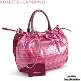 ロベルタ ディ カメリーノ バッグ ショルダーバッグ トートバッグ 定価27000 ピンク rbb092-24 レディース Roberta di Camerino