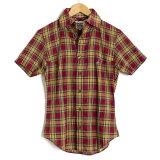 ヴィヴィアンウエストウッドマン シャツ 半袖 Vivienne Westwood MAN 赤黄 vwcr82081-545 メンズ