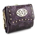 アナスイ 財布 三つ折り財布 がま口財布 紫系 ANNA SUI 307212-96 レディース 婦人