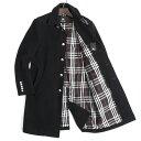 バーバリーブラックレーベル コート 羊毛コート BURBERRY black label 黒(ブラック) bmc79703-09 メンズ 紳士