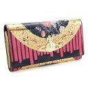 展示品箱なし ヴィヴィアンウエストウッド 財布 長財布 黒、ピンク系(ブラック、ピンク) Vivienne Westwood ACCESSORIES 3118s102