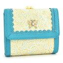 <クーポン配布中>アナスイ 財布 二つ折り財布 がま口財布 ライトブルー ANNA SUI 314292-82 レディース 婦人