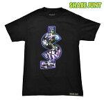 【SHAKEJUNT】 TK MONEY CARS tee カラー:black 【シェイクジャント】【スケートボード】【ティーシャツ】