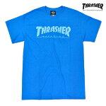 【THRASHER】SKATE MAG tee カラー:sapphire 【スラッシャー】【スケートボード】【ティーシャツ/半袖】