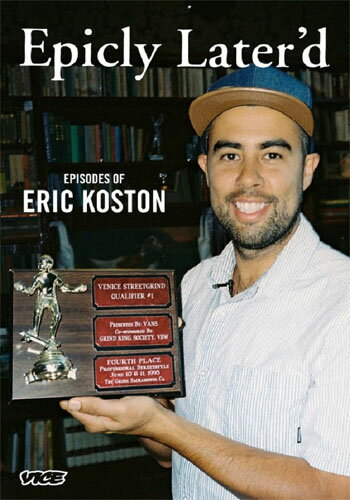 【Epicly Later'd】 Episodes of ERIC KOSTON【ジョン・カーディエル ドキュメント】【スケートボード】【映像/DVD】