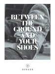 【BURDEN】BETWEEN THE GROUND AND YOUR SHOES 【ボーデン】【スケートボード】【映像/DVD】