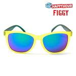 【HAPPY HOUR】FIGGY ICV カラー:yellow/green 【ハッピーアワー】【スケートボード】【アイウエア/サングラス】