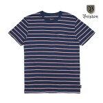 【BRIXTON】HILT S/S PKT knit カラー:navy 【ブリクストン】【スケートボード】【トップス/ティーシャツ】