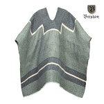 【BRIXTON】UPLAND poncho blanket カラー:gray 【ブリクストン】【スケートボード】【ポンチョ/ブランケット】
