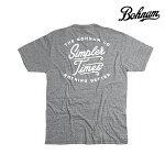 【BOHNAM】SIMPLE PREMIUM tee カラー:vintage gray 【ボーナム】【スケートボード】【ティーシャツ】