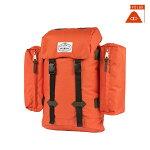 【POLER】RETRO RUCKSACK カラー:b.orange 【ポーラー】【スケートボード】【BAG/バッグ】