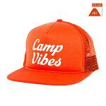 【POLER】70S VIBES MESH TRUCKER カラー:burnt orange 【ポーラー】【スケートボード】【帽子/キャップ】