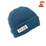 【POLER】WORKERMAN カラー:blue 【ポーラー】【スケートボード】【ビーニー/帽子】