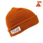【POLER】WORKERMAN カラー:orange 【ポーラー】【スケートボード】【ビーニー/帽子】