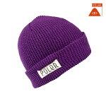 【POLER】WORKERMAN カラー:purple 【ポーラー】【スケートボード】【ビーニー/帽子】