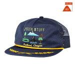 【POLER】TOURIST TRAPMESH TRUCKER カラー:navy 【ポーラー】【スケートボード】【キャップ/帽子】