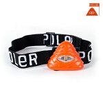 【POLER】CYCLOPS HEADLAMP カラー:burnt orange 【ポーラー】【スケートボード】【ヘッドランプ/小物】