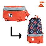 【POLER】TOURIST PACK カラー:burnt orange 【ポーラー】【スケートボード】【バックパック/BAG】