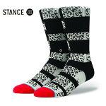 【STANCE】HALFTIME カラー:black 【スタンス】【スケートボード】【靴下/ソックス】