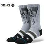 【STANCE】PODIUM カラー:gray 【スタンス】【スケートボード】【靴下/ソックス】