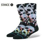 【STANCE】ULITO カラー:black 【スタンス】【スケートボード】【靴下/ソックス】