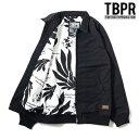 【TBPR/TIGHTBOOTH PRODUCTION】BACK BONE JKT カラー:black 【タイトブースプロダクション】【スケートボード】 ジャケ...