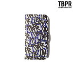 【TBPR/TIGHTBOOTH PRODUCTION】iPhone Note book Case カラー:fame blue 【タイトブースプロダクション】【スケートボード】【アイフォンケース】