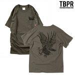 【TBPR/TIGHTBOOTH PRODUCTION】 YATAGARASU カラー:charcoal 【タイトブースプロダクション】【HIRO】【スケートボード】【ティーシャツ】
