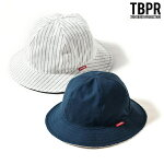 【TBPR/TIGHTBOOTH PRODUCTION】 STRIPE HAT カラー:white 【タイトブースプロダクション】【スケートボード】【ハット/帽子】