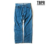 【TBPR/TIGHTBOOTH PRODUCTION】STRETCH DENIM PANTS カラー:wash 【タイトブースプロダクション】【スケートボード】【パンツ/デニム】