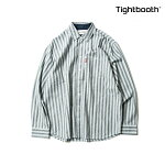 【TBPR/TIGHTBOOTH PRODUCTION】CHECK SHIRTカラー:white 【タイトブースプロダクション】【スケートボード】【シャツ/長袖】