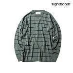 【TBPR/TIGHTBOOTH PRODUCTION】COTTON LINERS カラー:grey 【タイトブースプロダクション】【スケートボード】【スウェット/ニット】