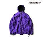 【TBPR/TIGHTBOOTH】REVERSIBLE JACKET カラー:purple×black 【タイトブース】【スケートボード】【ジャケット】